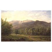 Erik Koeppel Landscape Oil Painting Mt. Washington & Huntington Ravine NH