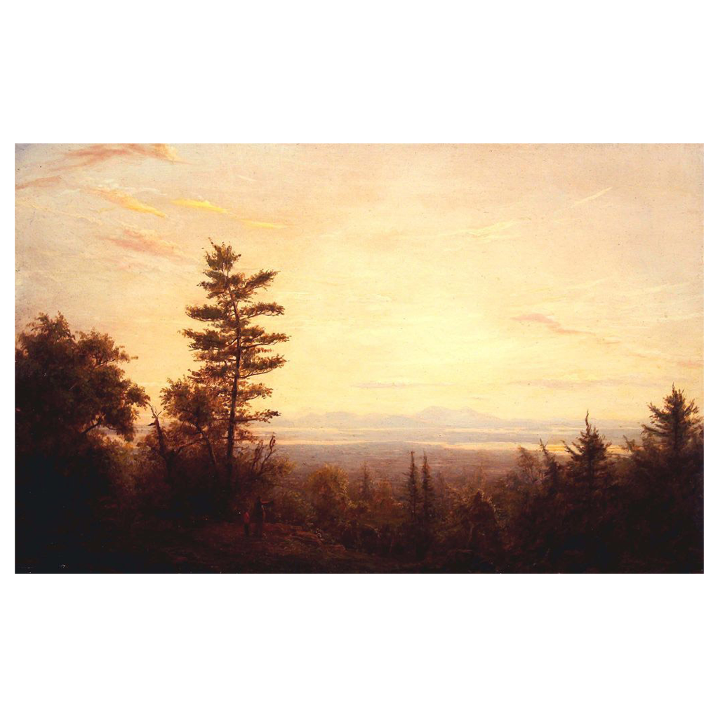 Erik Koeppel Oil Painting View over Lake Winnipesaukee NH