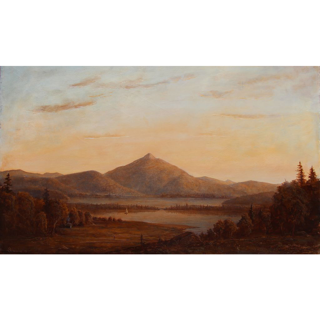 Lauren Sansaricq White Mountains Oil Painting Mt. Chocorua NH