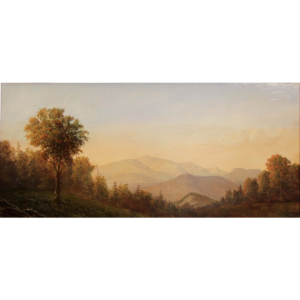 Lauren Sansaricq White Mountain Oil Painting Mt. Washington and the Presidentials NH