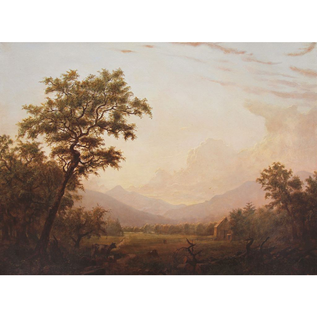 Erik Koeppel White Mountain Landscape Oil Painting Grafton Notch  NH