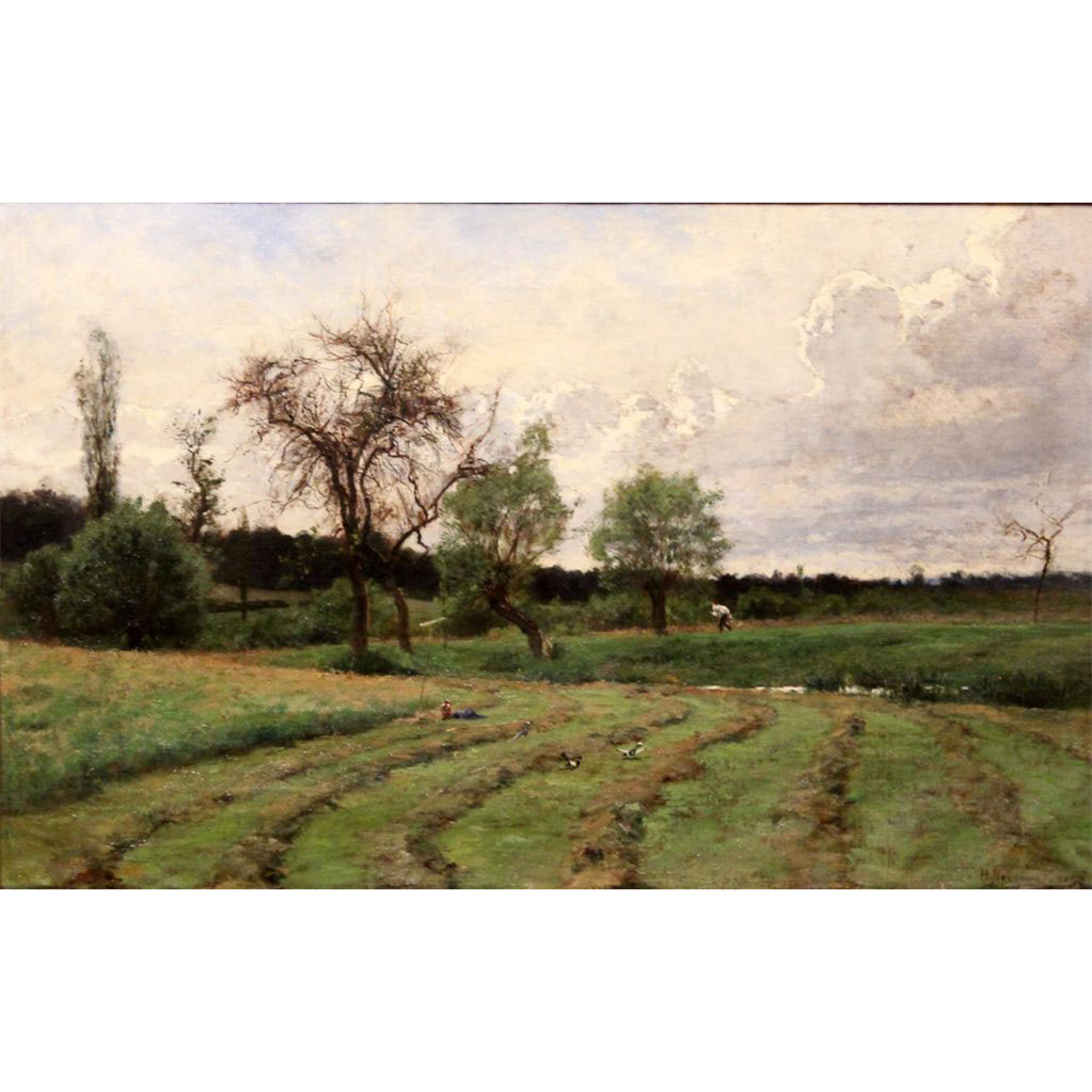Hugh Bolton Jones Oil Painting Barbizon Landscape