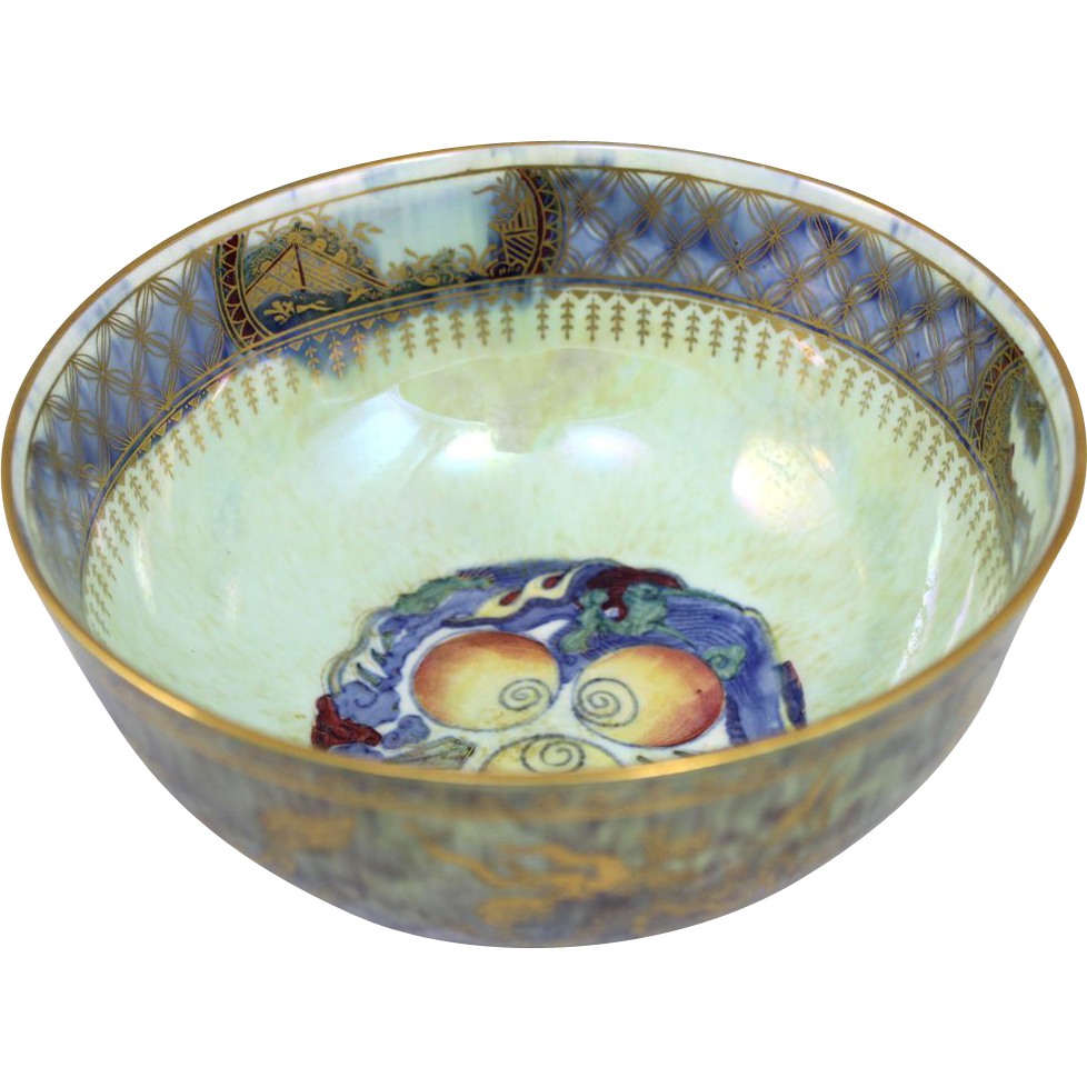 Wedgwood Fairyland Three Jewels Lustre Bowl