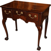 Georgian English Mahogany Lowboy