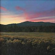 Erick Ingraham Oil Painting NH Landscape Monadnock Gloaming