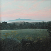Erick Ingraham Oil Painting NH Landscape Monadnock Serene Morning