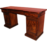 Classical Mahogany Pedestal Sideboard - Vose, Boston