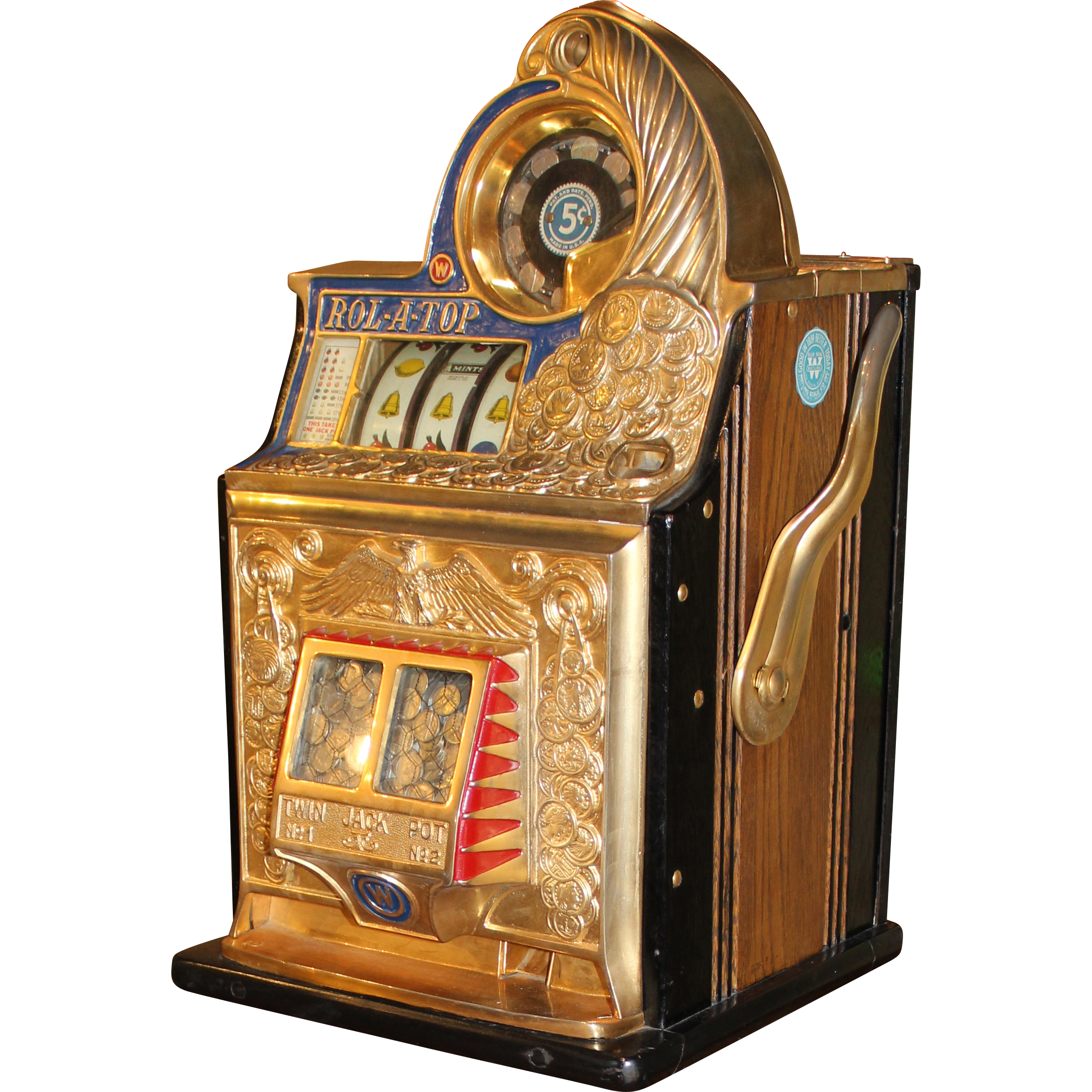 rol a top slot machine for sale