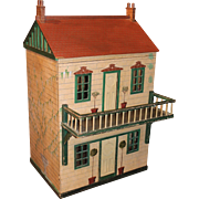 Large English Wooden Doll House