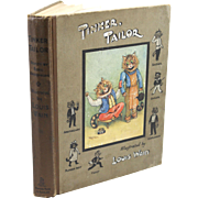 Rare Book - Tinker Tailor, Stories by Edric Vredenburg, Illustrated by Louis Wain, 1st Edition