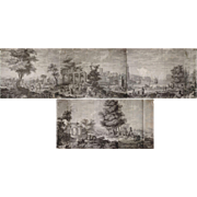 21 Wallpaper Panels, By Joseph Dufour et Cie, After Comte de Choiseul-Gouffier