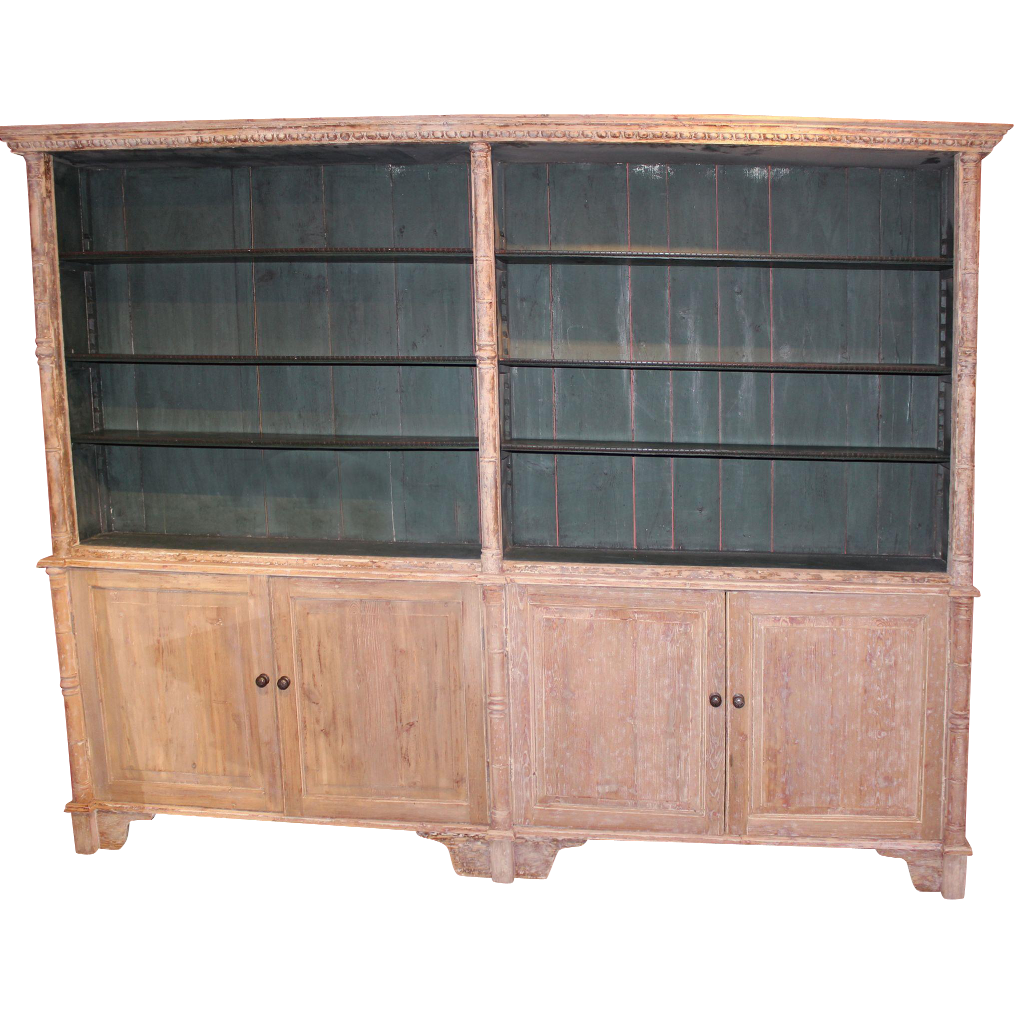Country English Regency Bookcase circa 1830