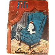 Rare Children's Book - Fifi by Ludwig Bemelmans First Edition 1940