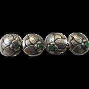 Early 20th c 830 Silver Cufflinks by Georg Jensen