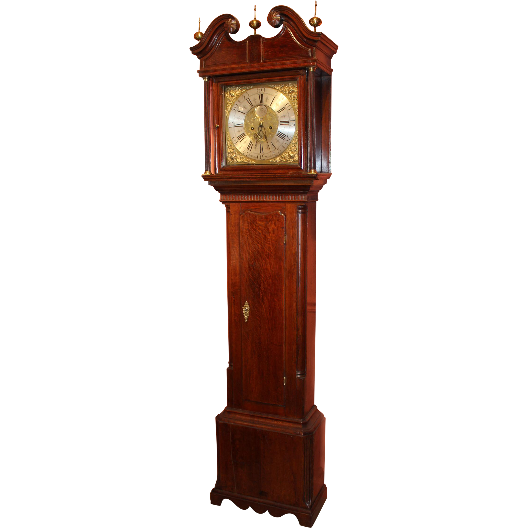 Late 18th c S. Whalley, Manchester, England Tall Clock