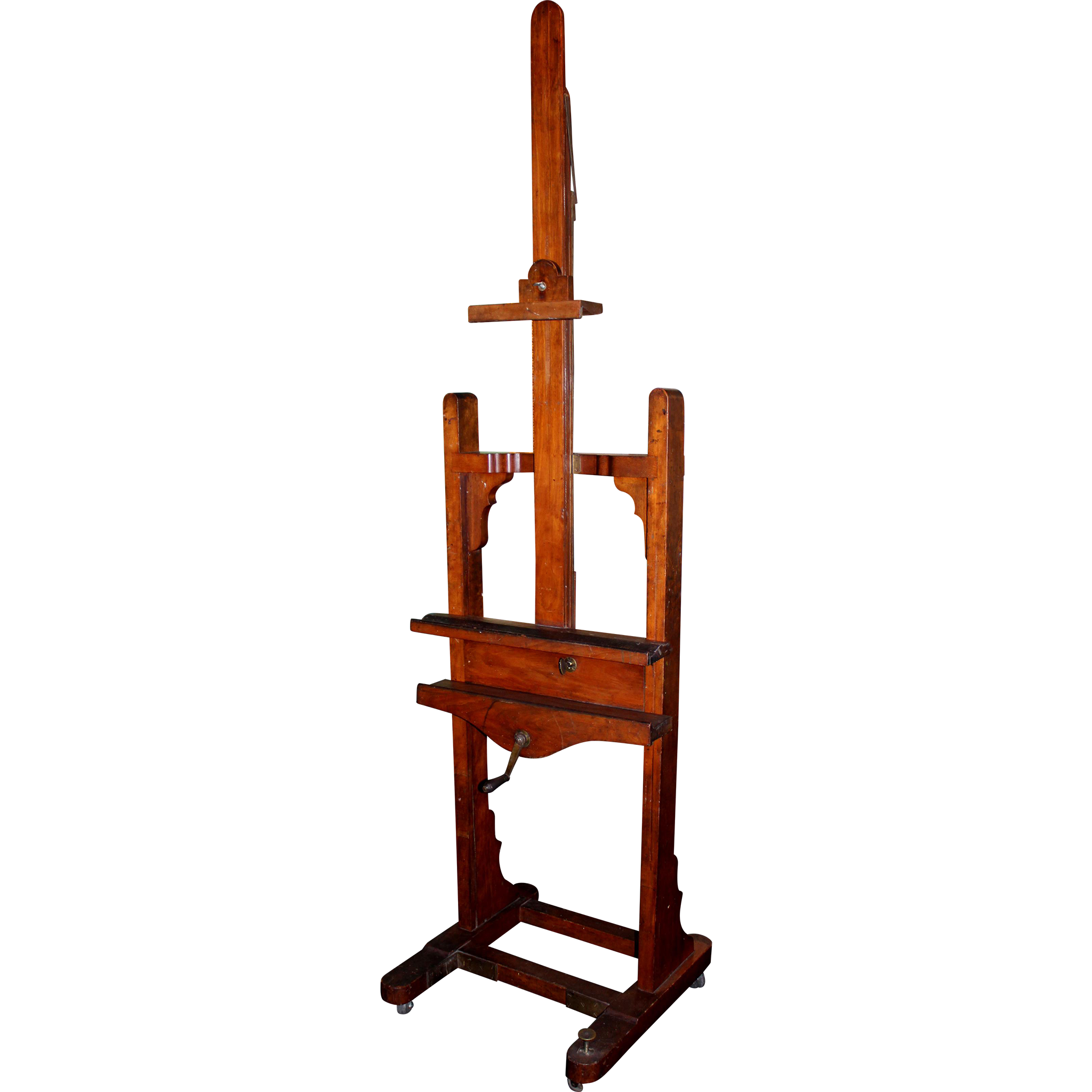 William McGregor Paxton's Artist Easel in Cherrywood from Fenway Studios, Boston