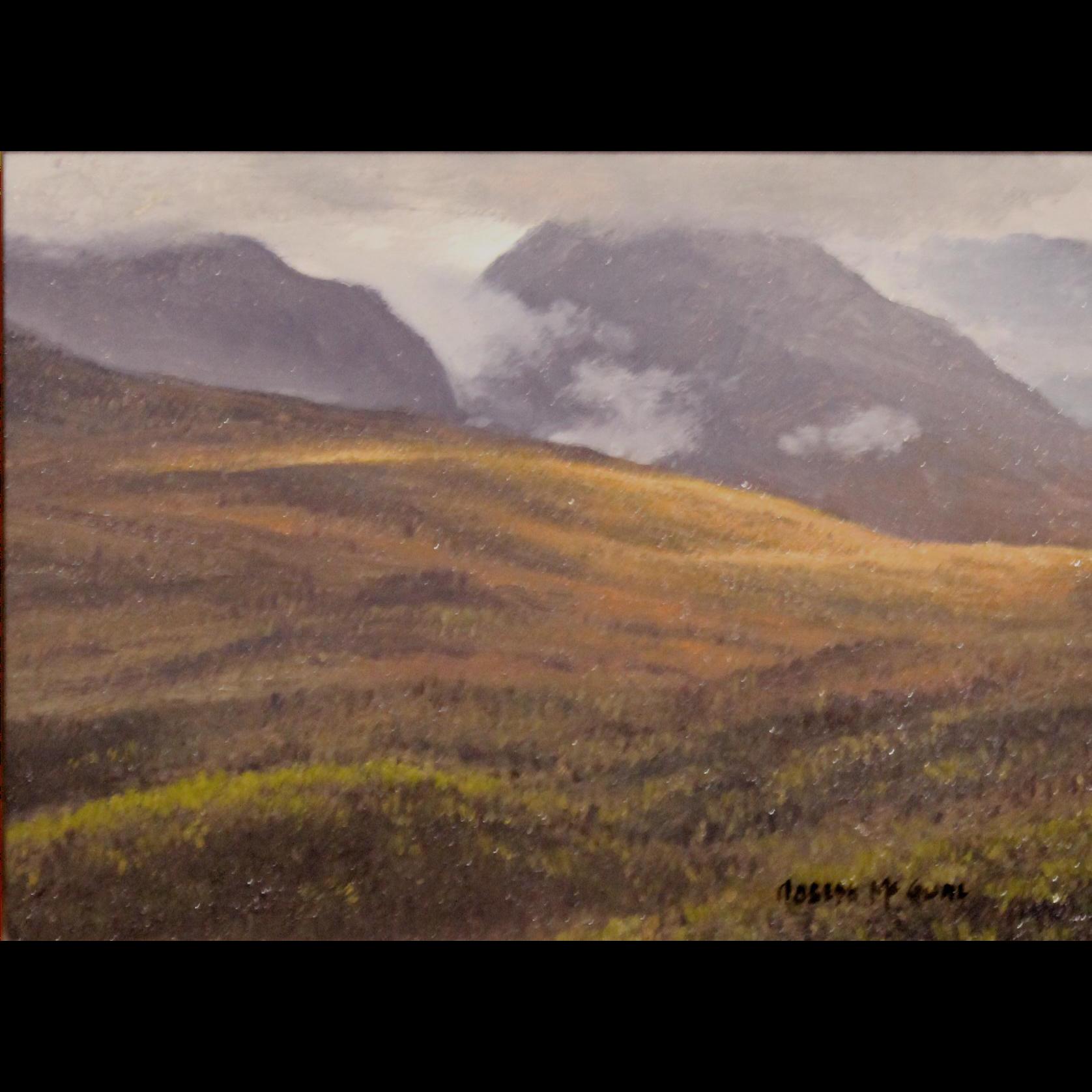 Joseph McGurl Plein Air Oil Painting - The White Mountains NH