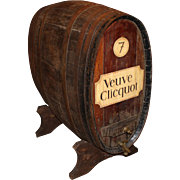 Large French Oak Wine or Champagne Barrel / Cask on Stand