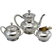 3 Piece Towle Sterling Silver Tea Service