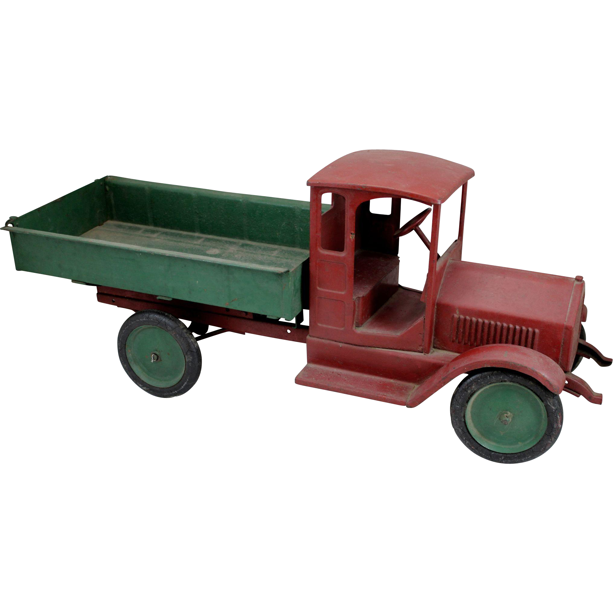 Sturditoy Pressed Steel Toy Dump Truck circa 1926