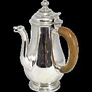 John East English Sterling Chocolate Pot circa 1712