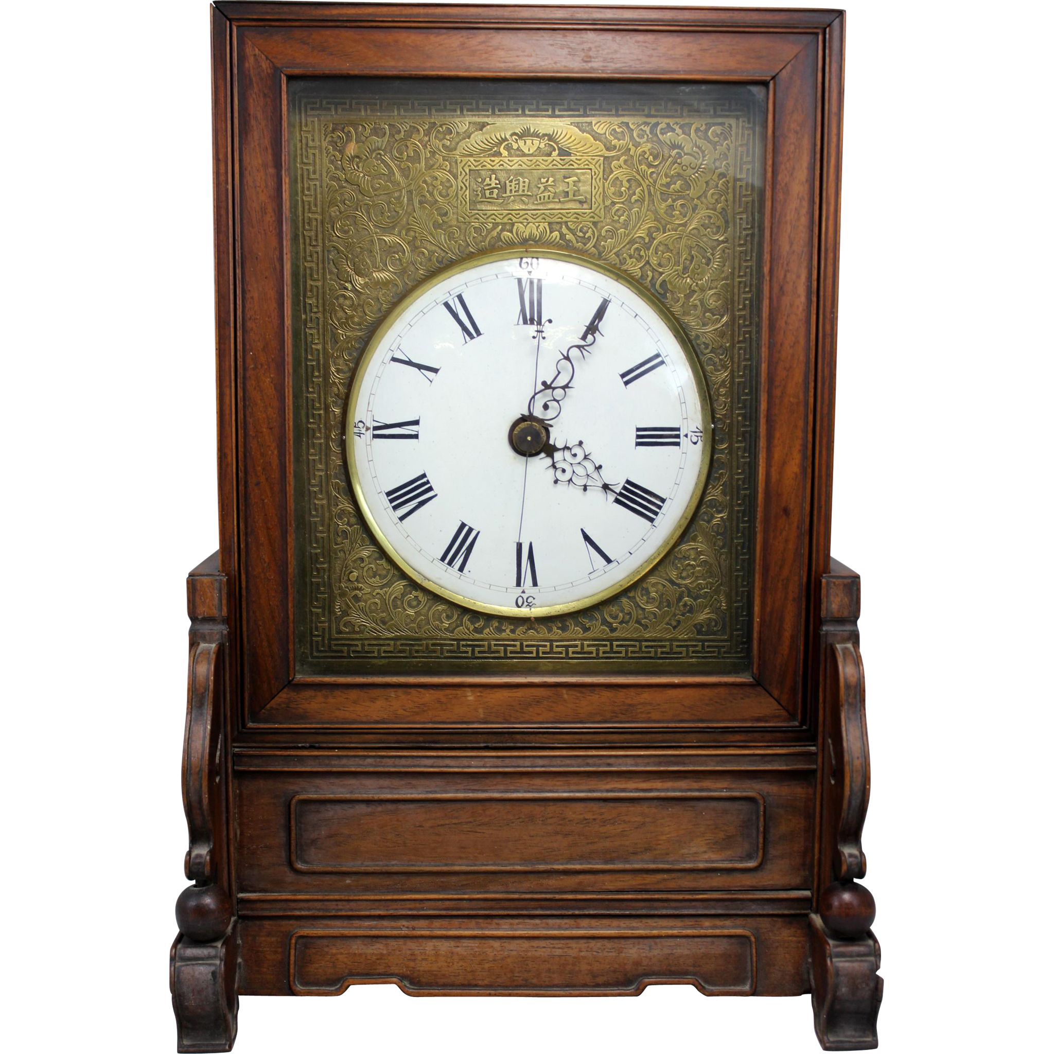 18th / 19th c Chinese Bracket Clock with Grand Sonnerie Movement
