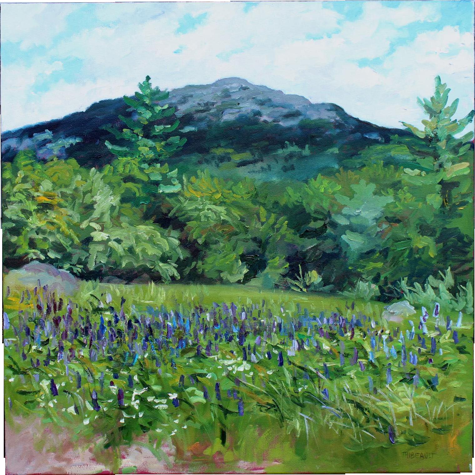 Daniel Thibeault Oil Painting Landscape of Mount Monadnock