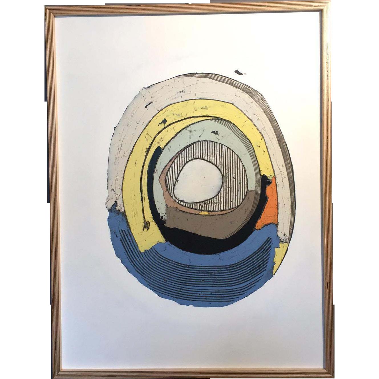 Chris Myott Abstract Oil Painting - Better Luck Tomorrow
