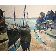 Anthony Thieme Marine Oil Painting - Morning, Eastport, Maine