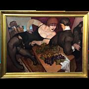 Juarez Machado Modernist Oil Painting - Hotel em Sorrento