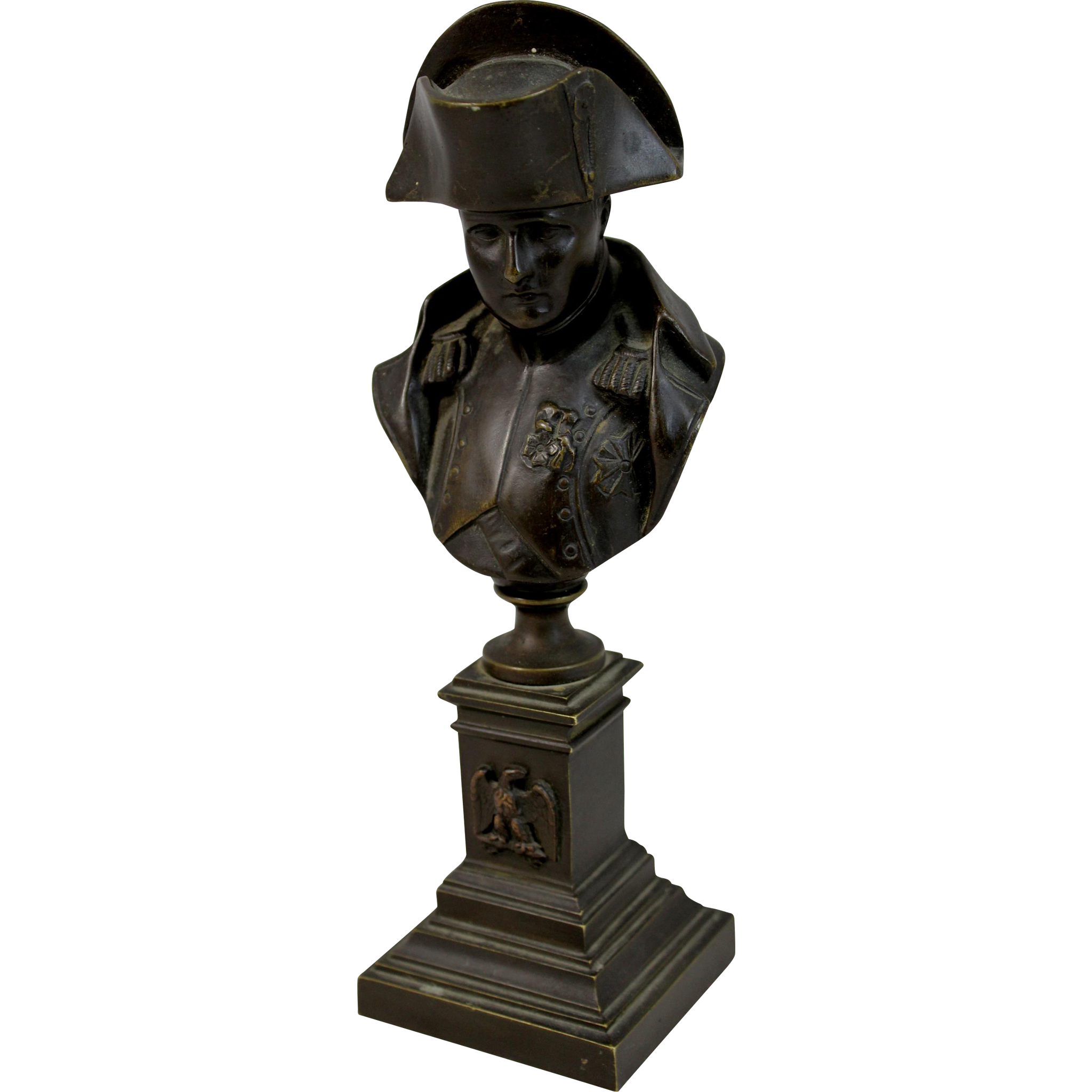 Jean Jacques (James) Pradier Bronze Bust of Napoleon