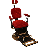 Ritter Imperial Columbia Dental Chair circa 1905-1925 - Red Tag Sale Item