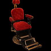 Ritter Imperial Columbia Dental Chair circa 1905-1925