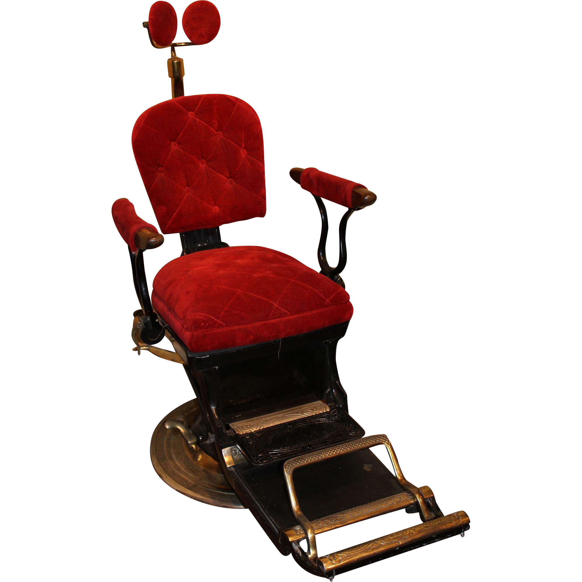 Ritter Imperial Columbia Dental Chair circa 1905 1925 Red Tag
