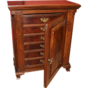 18th c Pennsylvania Walnut Spice Chest or Cabinet