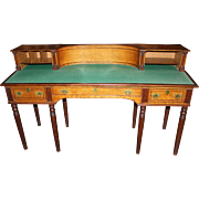 19th c Porter Blanchard Birdseye Maple Concord NH State House Desk