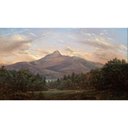 Erik Koeppel NH White Mountain Landscape Oil Painting of Mount Chocorua