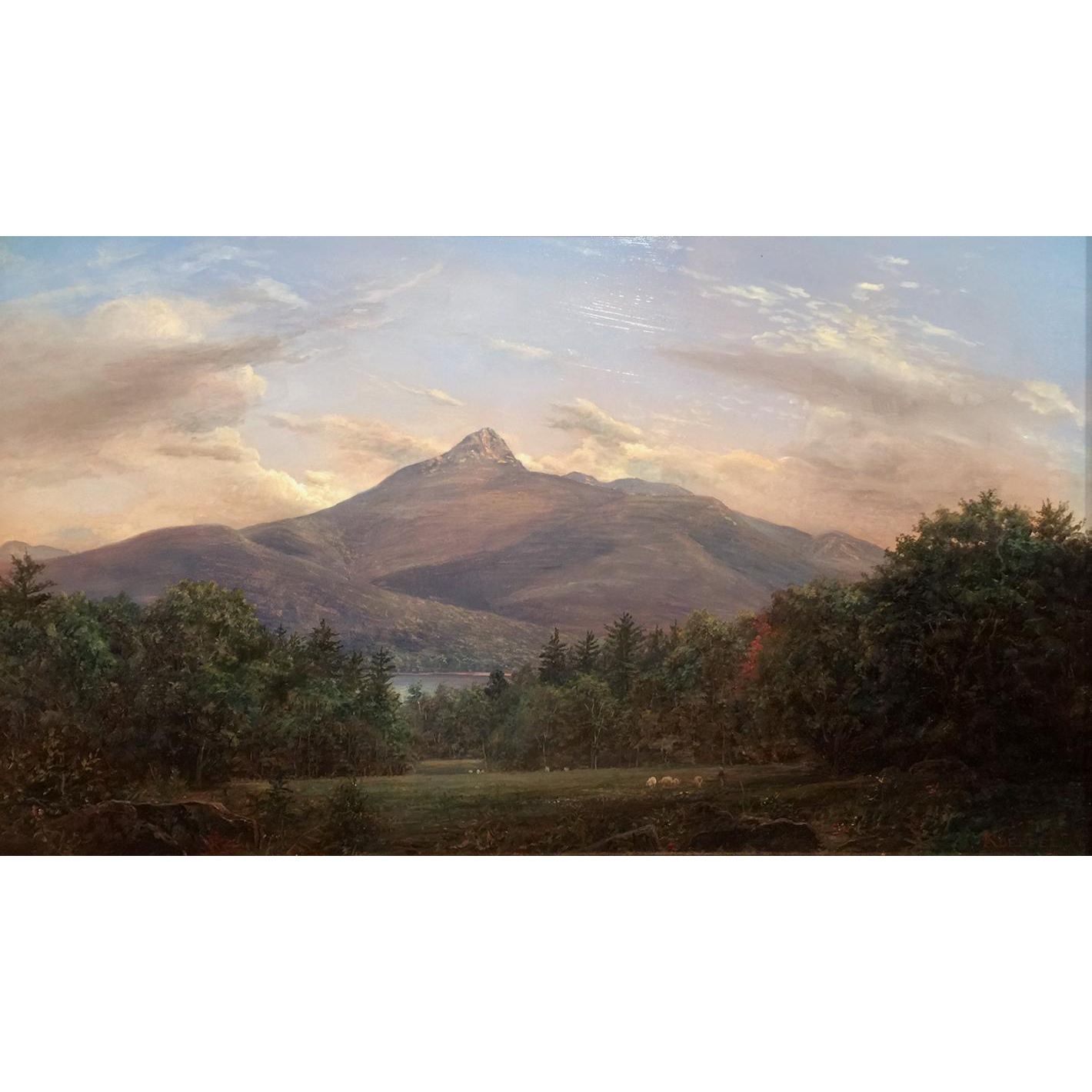 Erik Koeppel NH White Mountain Landscape Oil Painting of Mount Chocorua
