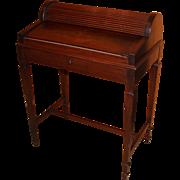 Shaw Furniture Co. Petite Roll Top Writing Desk Cambridge MA, circa 1920