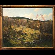Charles Curtis Allen Oil Painting Autumn Landscape