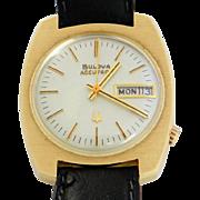 Bulova Accutron Day-Date 14K Men's Watch