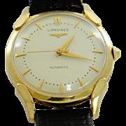 Longines Automatic 14K Gold Men's Watch