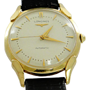 Longines Automatic 14K Gold Men's Watch