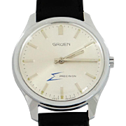 Gruen Precision Electric Men's Watch