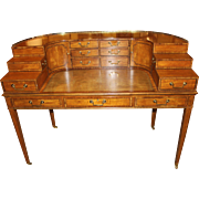 Baker Furniture 1765 Carlton Collector's Edition Satinwood Writing Desk