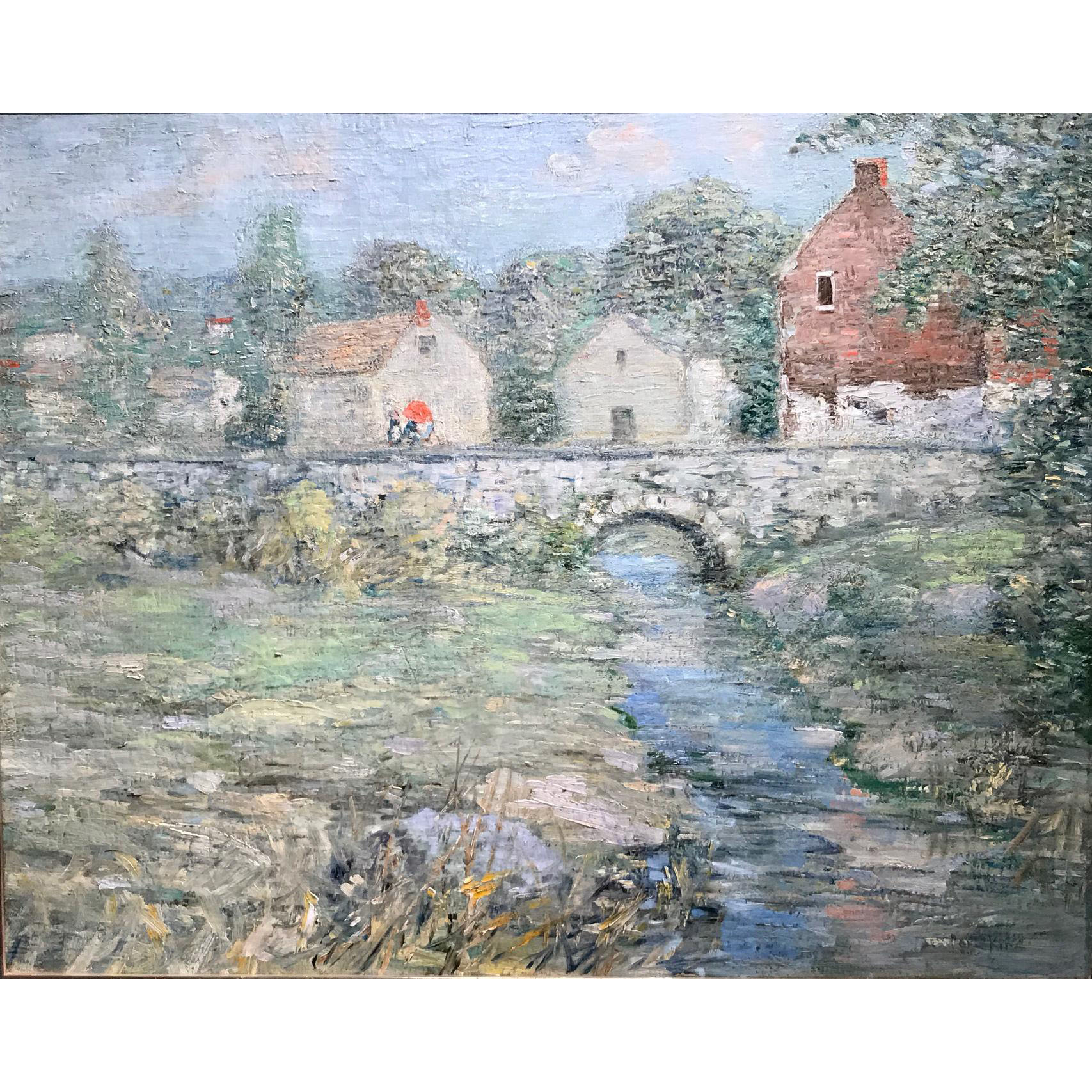 Paul Bernard King Impressionist Oil Painting - Artists Bridge