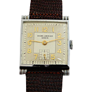 Baume & Mercier Manual Square Men's Watch