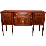 Seymour School Boston Federal Mahogany Sideboard, circa 1820
