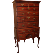Queen Anne Massachusetts Maple Highboy, circa 1780