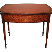 Federal Boston Library Table circa 1800 Attributed to John or Thomas Seymour